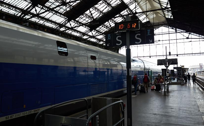 パリ・スイス旅2014 -3日目- 前半 TGV乗車でスイスに移動