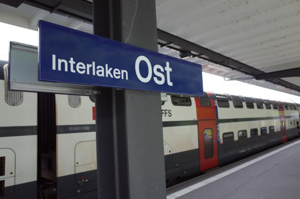 インターラーケン・オストに到着