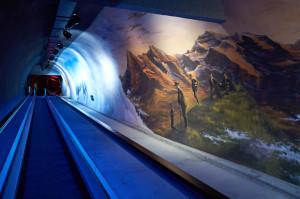 トンネルに関する展示もありました