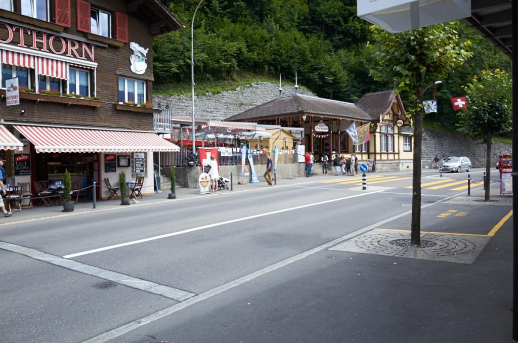 ブリエンツロートホルン鉄道のブリエンツBRB駅