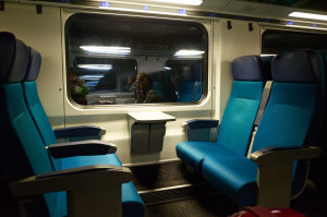 IC2000客車の車内