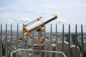 望遠鏡も雰囲気がありますね