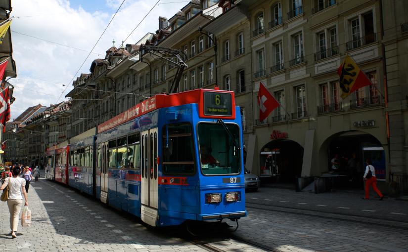 パリ・スイス旅2014 -3日目- 後半 ベルン市に寄り道