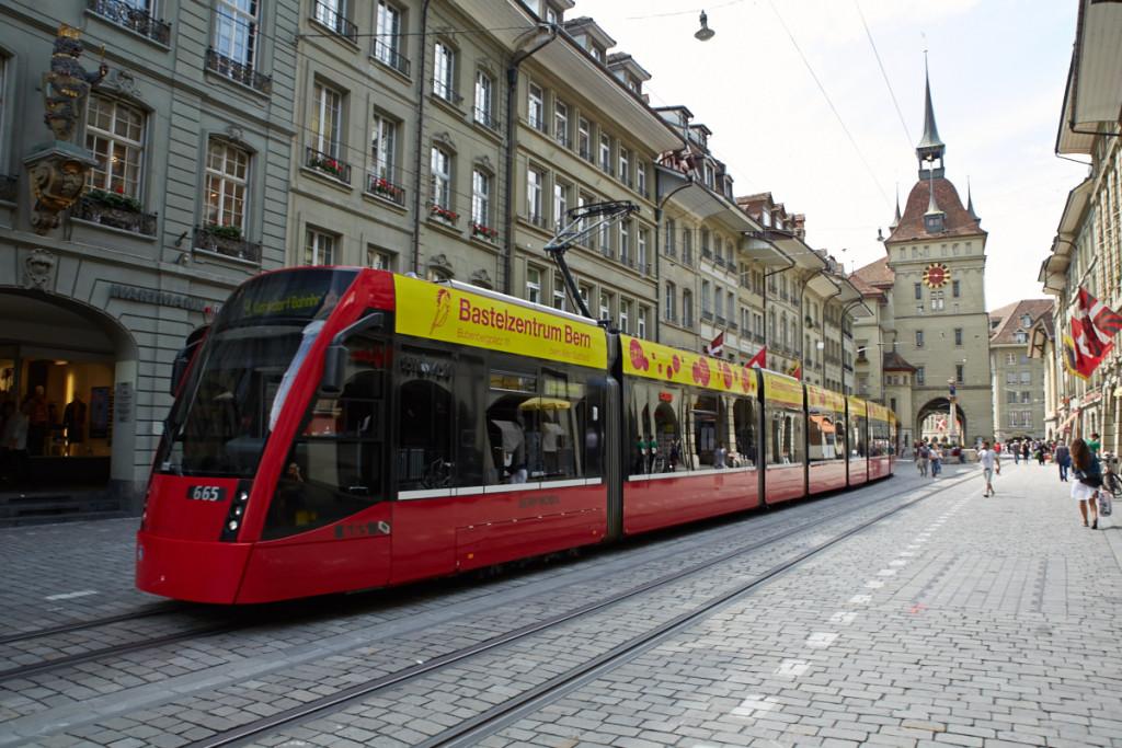 ベルン市路面電車