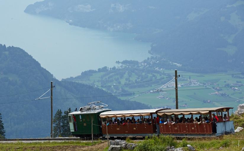 パリ・スイス旅2014 -5日目- シーニゲプラッテ鉄道とハイキング