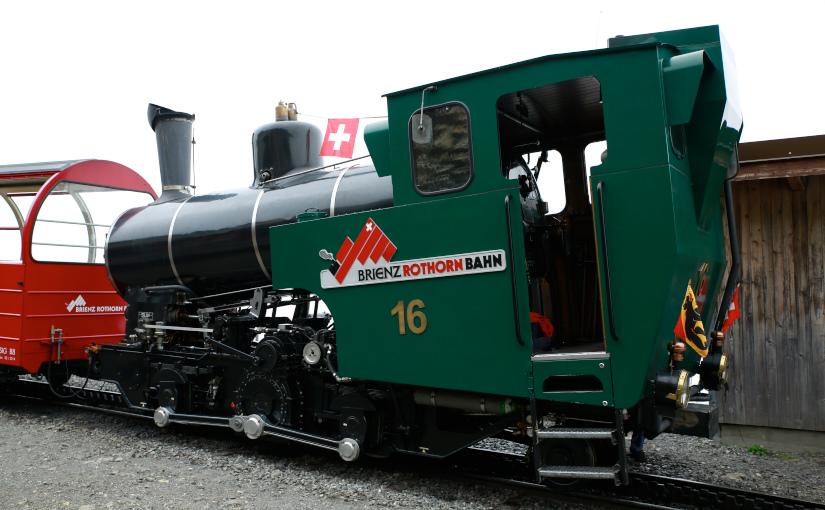 パリ・スイス旅2014 -6日目- ブリエンツロートホルン鉄道 前半
