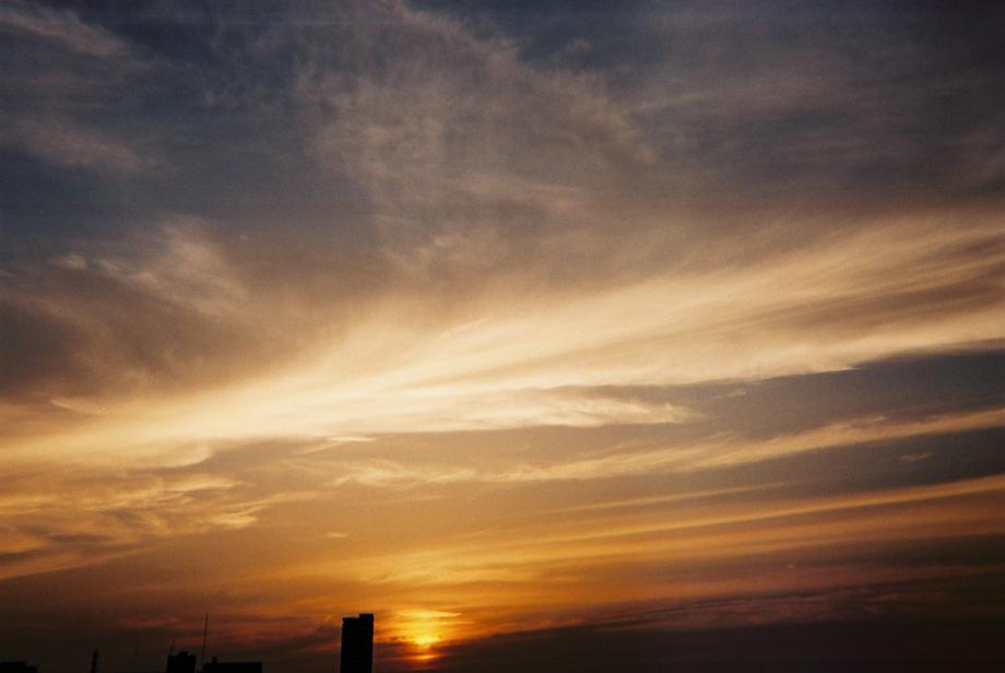 ラストカメラ 夕日