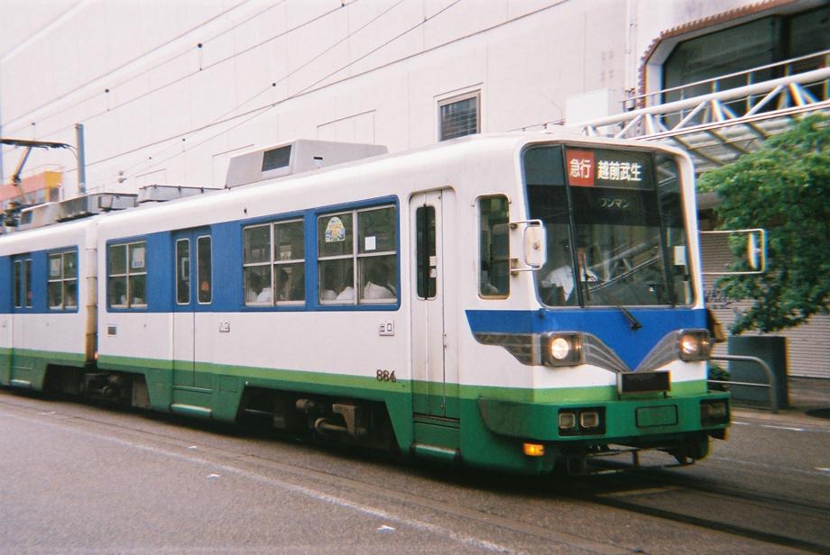 ラストカメラ 福井鉄道モ880