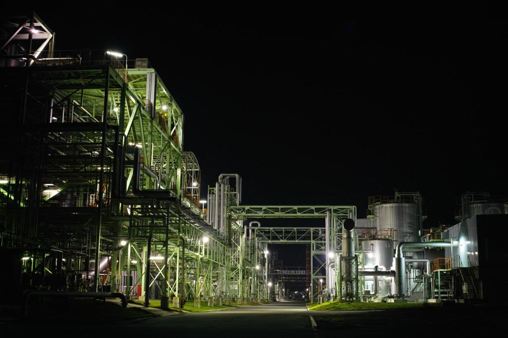 姫路にて工場夜景 1 DP2 Merrill