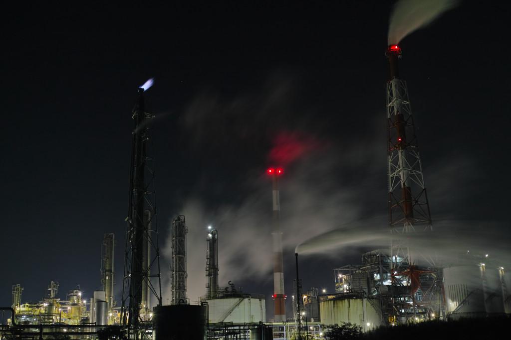 姫路にて工場夜景4 DP2 Merrill
