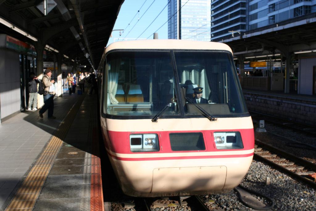 クロ381乗車記 名古屋駅