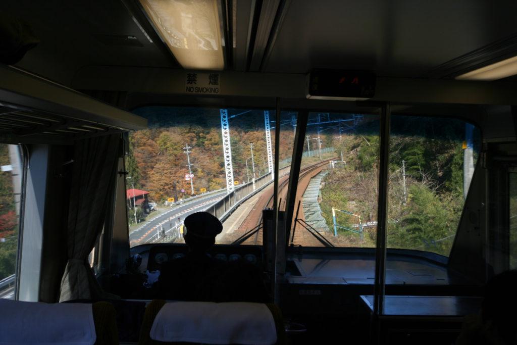 クロ381乗車記 山岳区間