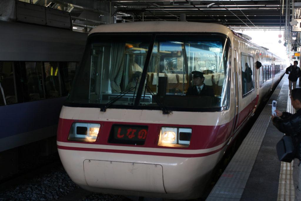 クロ381乗車記 松本駅