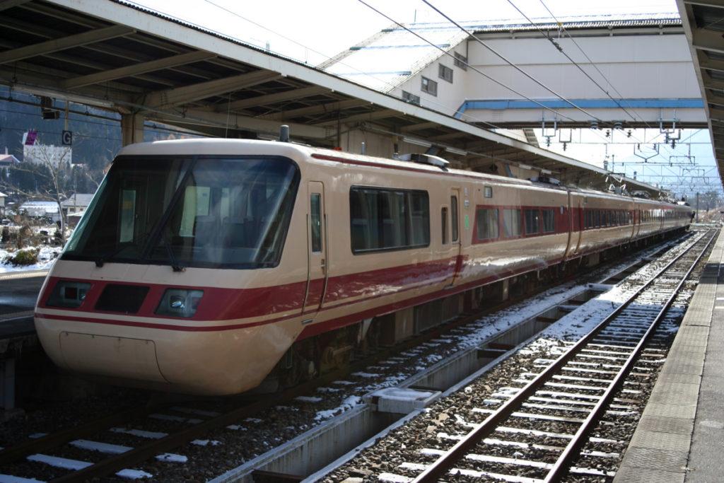 クロ381乗車記 白馬駅